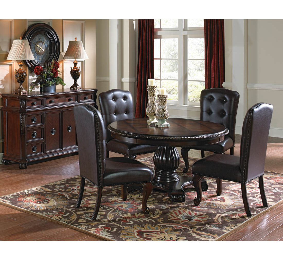 Sophia 5pc Dining Set Badcock More Dining Room Sets Round
