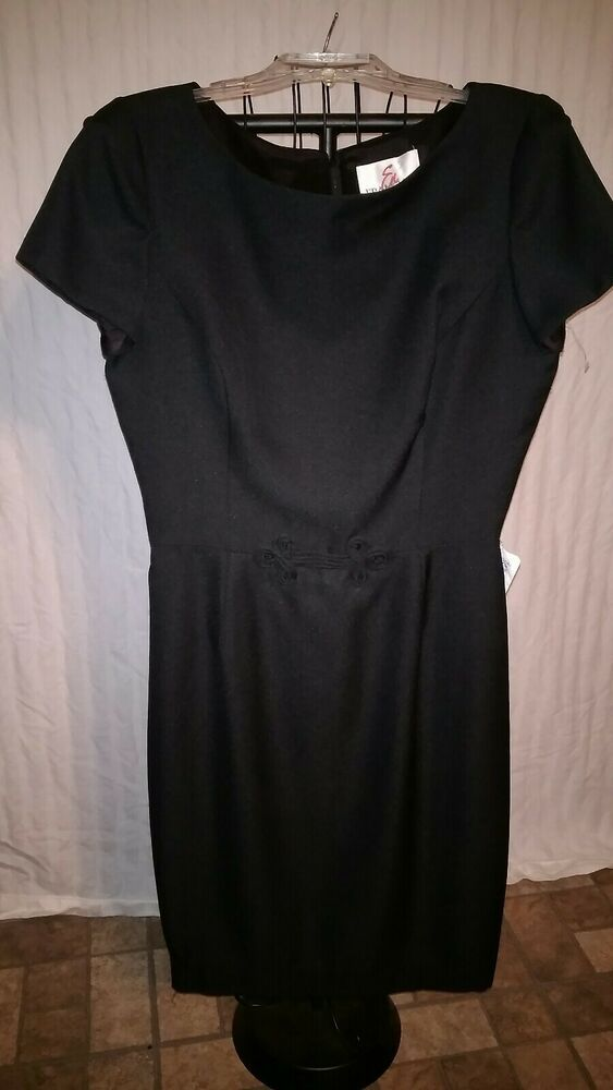 4f114a7c8a8 En FRANCAIS Dillard s Size 14 Women s Black Career Dress NWT - dillards  dresses  dillardsdresses