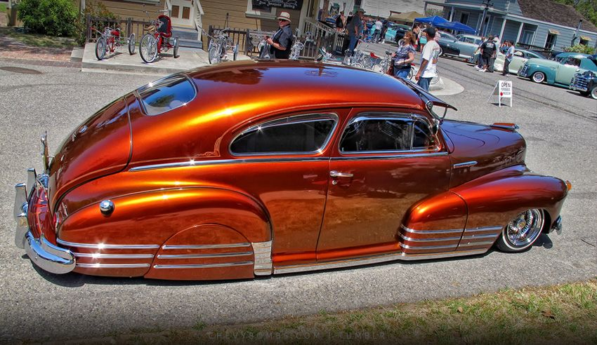 46 47 48 Chevy Deluxe Aero Coupe Custom Cars Paint Lowrider