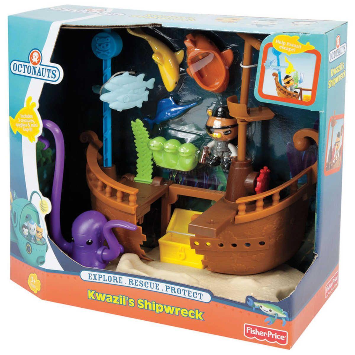 Fisher-price Octonauts Tunip /& The Sea Snot Blob Figure Play Pack