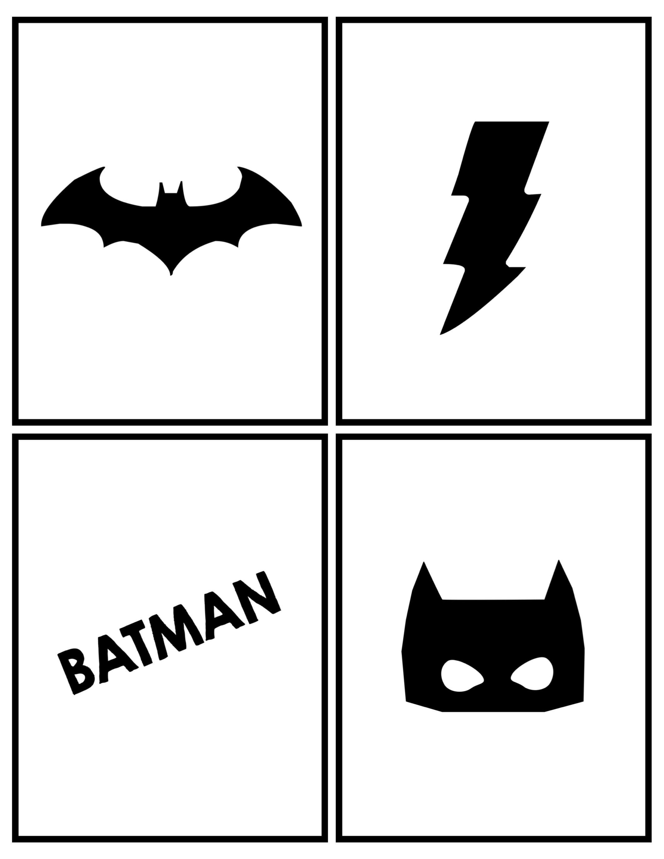 Batman Party Banner Free Printable | Batman party, Batman ...