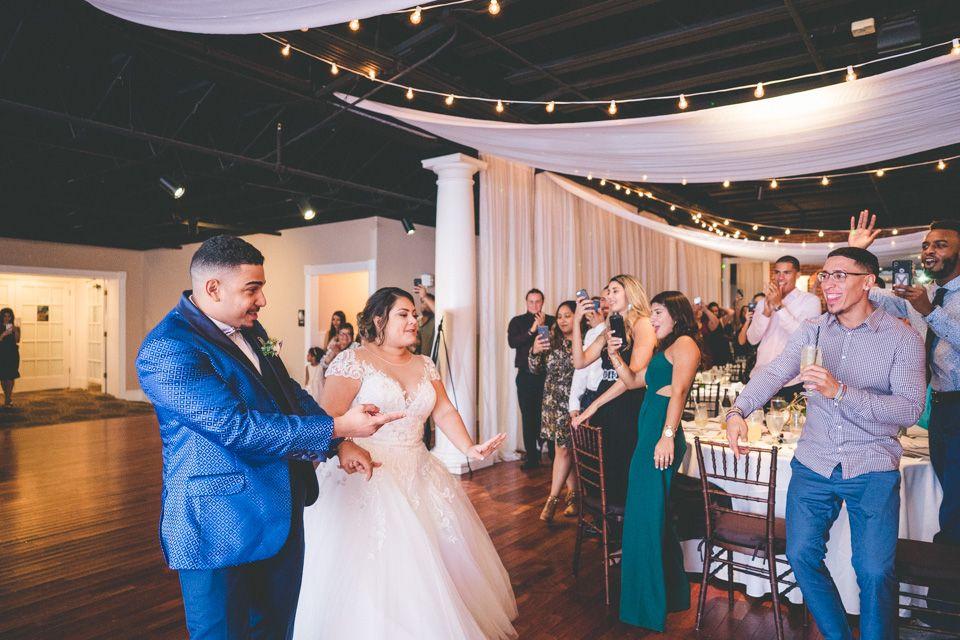 Wedding Inspiration Wedding Reception Bride And Groom Venue