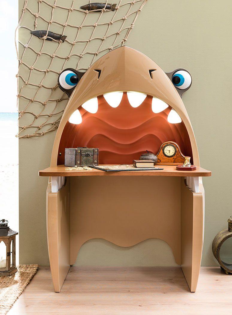Shark Study Desk Pirate Furniture Children Luxury Furniture
