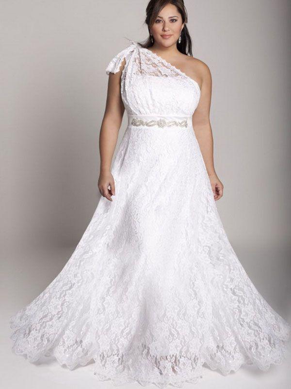 cutethickgirls.com informal plus size wedding dresses (14 ...