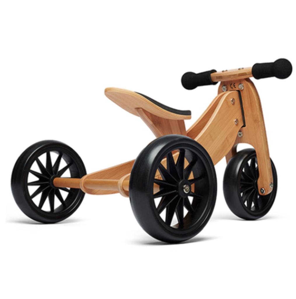 Kinderfeets Balance Bike Bamboo Tiny Tot Preorder Derevyannye Igrushki Detskij Velosiped Remeslennye Stoly
