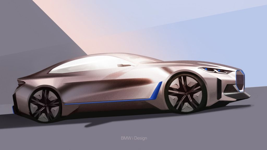 Bmw Reveals Its New Concept I4 In 2020 With Images Bmw