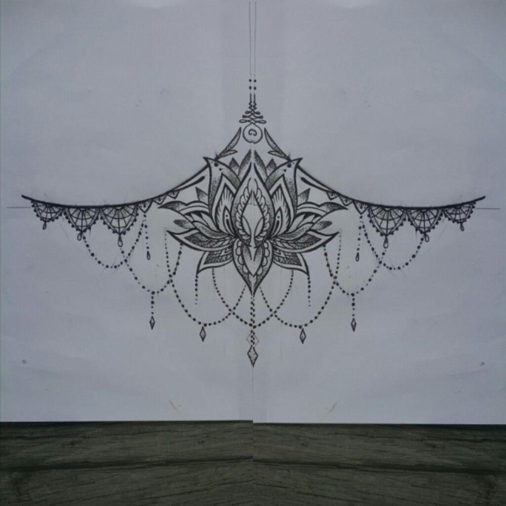 Underbreast Tattoo - Nicheh