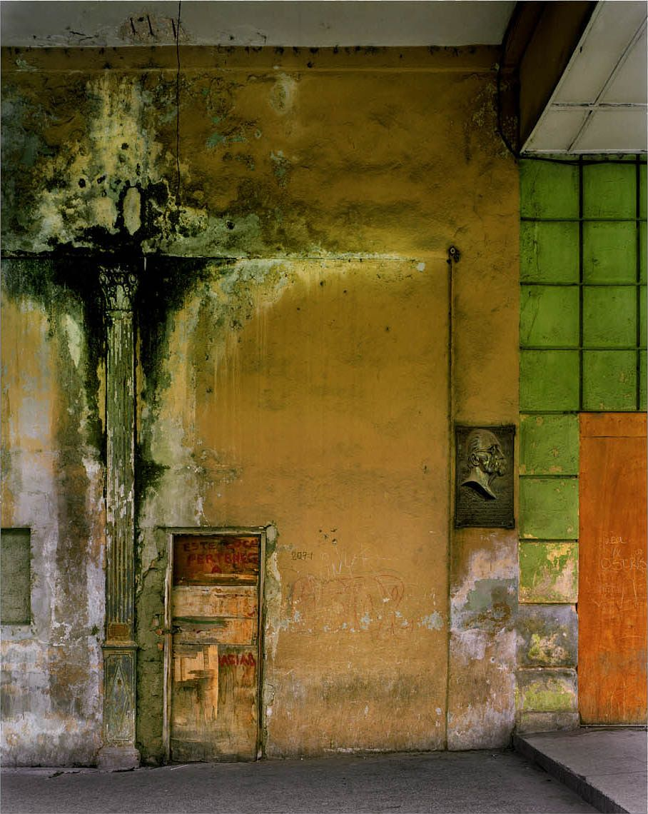 Interiors of a Cuban building... the faded beauty of a Grande Dame ...