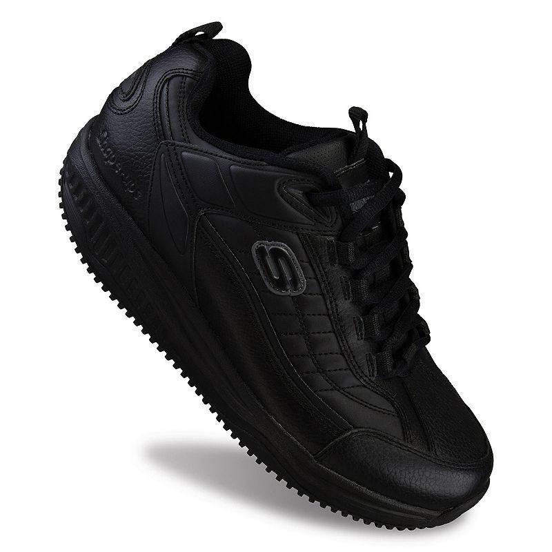Work Shape-Ups Exeter SR Men's Shoes Skechers - black