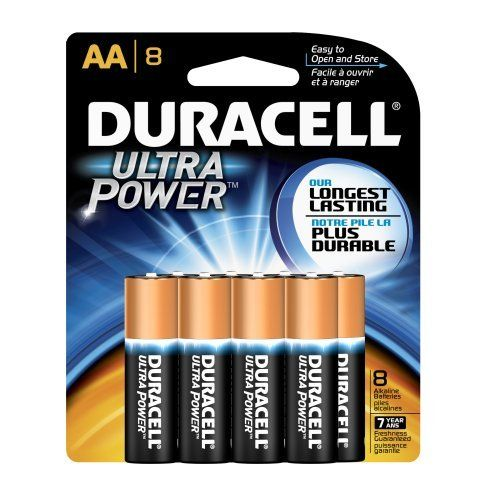 Duracell Ultra Aa Alkaline Batteries 8 Count Package Pack Of 2 By Duracell 17 97 Manufacturer Product Descr Duracell Alkaline Battery Household Batteries