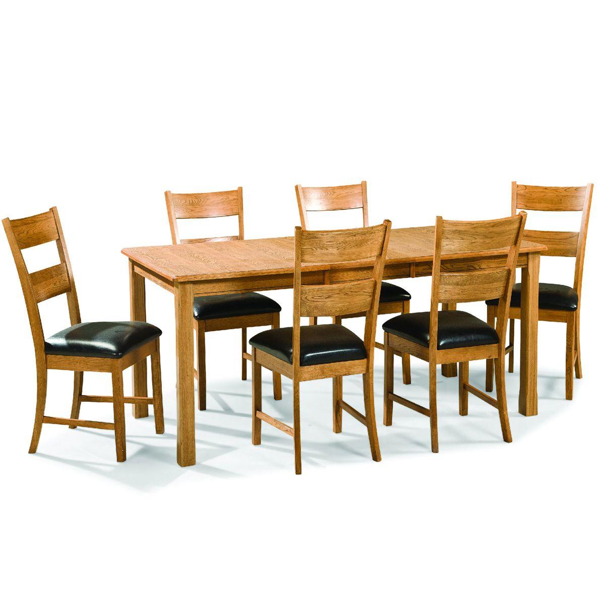 Family Dining Leg Extension Table American Home Albuquerque Santa Fe Farmington