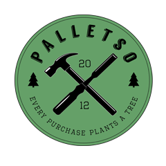Pallet Palletso specializes in custom, handmade, recycled Pallet furniture and decor for the home and business. Veteran Owned! Every purchase plants a tree! http://palletso.com/