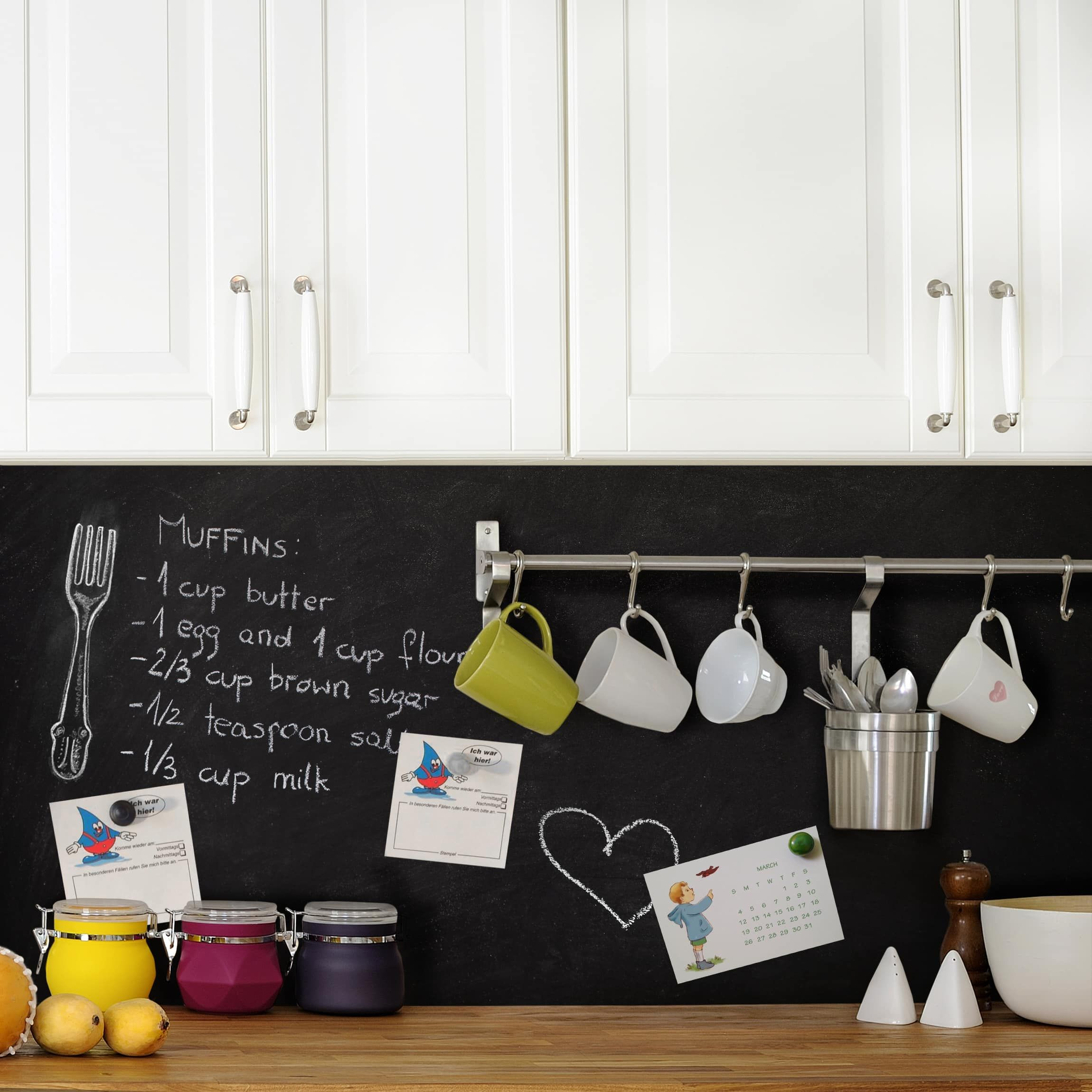 Vernice Lavagna Magnetica Colorata pellicola magnetica - lavagna adesiva - cucina (con immagini