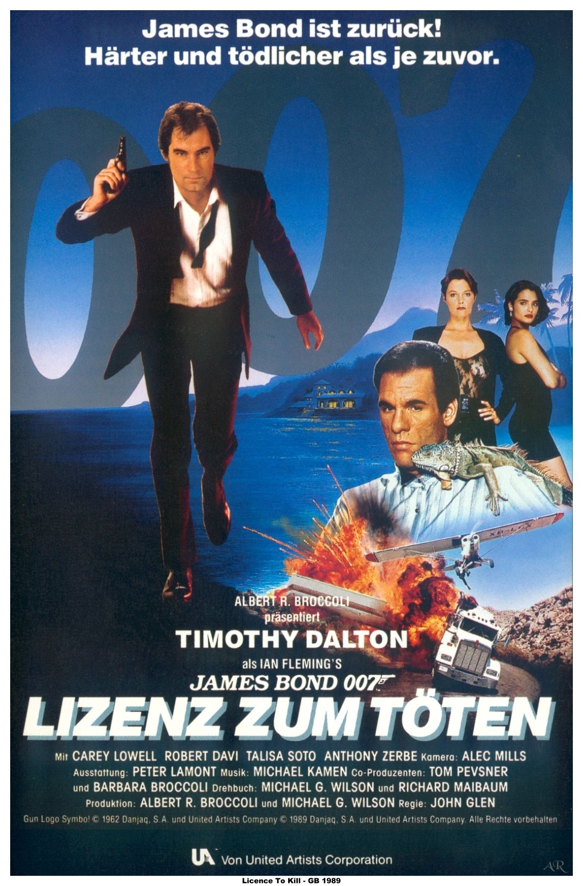 German Ltk Poster James Bond Movies James Bond Movie Posters