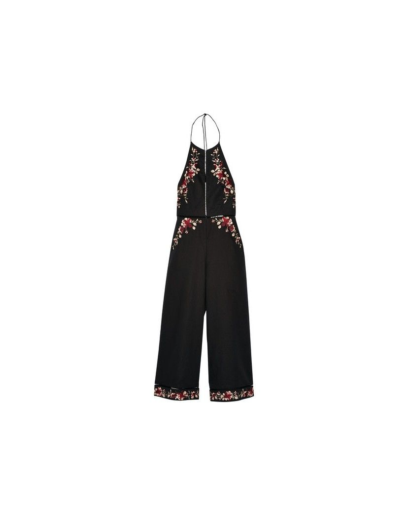 5868b220845d Zimmermann Sakura embroidered linen and cotton-blend jumpsuit ...