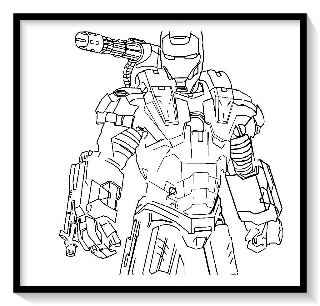 Dibujos De Iron Man Para Colorear En Linea Colorear E Imprimir Ironman Ironman Para Pin Coloring Pages Captain America Coloring Pages Coloring Books