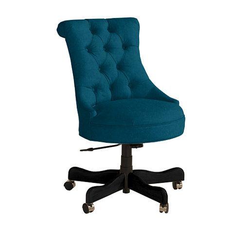 Elle Tufted Desk Chair Decor Upholstered Desk Chair