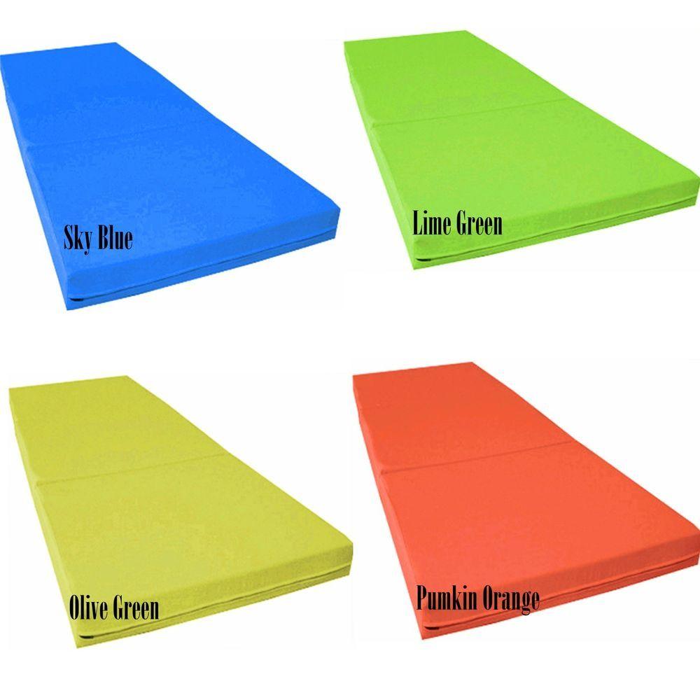 4 Inches Trifold Tri Folding Foam Bed
