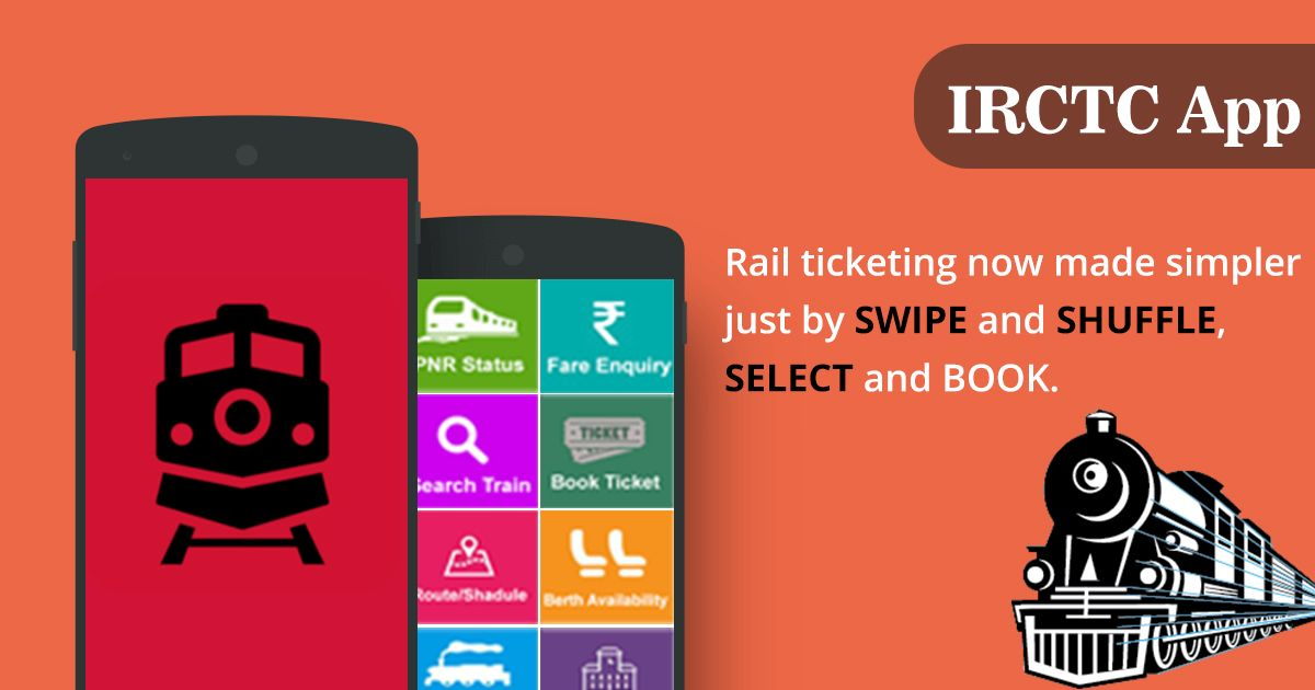 Indian Rail IRCTC & PNR Status APK