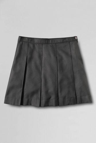 School Uniform Box Pleat Skirt Top Of The Knee From Lands End Box Pleat Skirt Skirt Top Girls School Skirts