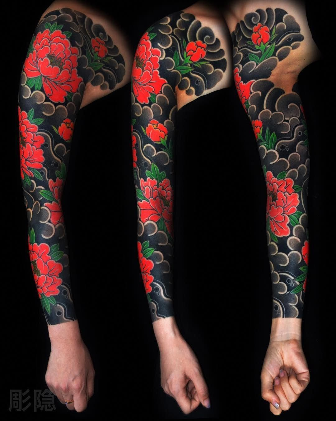 I Want This Or A Variation Of This Asap Japanese Sleeve Tattoos Japanese Tattoo Traditional Japanese Tattoos