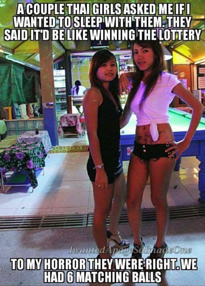 Couple Of Thai Girls - Adult Meme  Diy  Pinterest  Meme, Humor And Memes