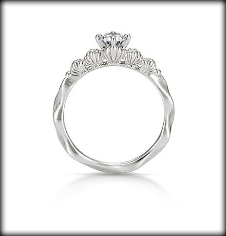 A mermaid in love ring disney Ariel engagement ring aka PERFECT
