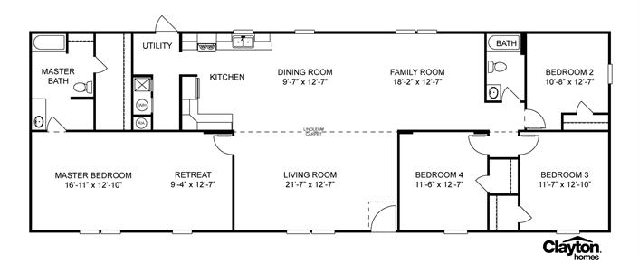 3 Favorite 12 29 13 Mobile Home Floor Plans Manufactured Homes Floor Plans House Floor Plans