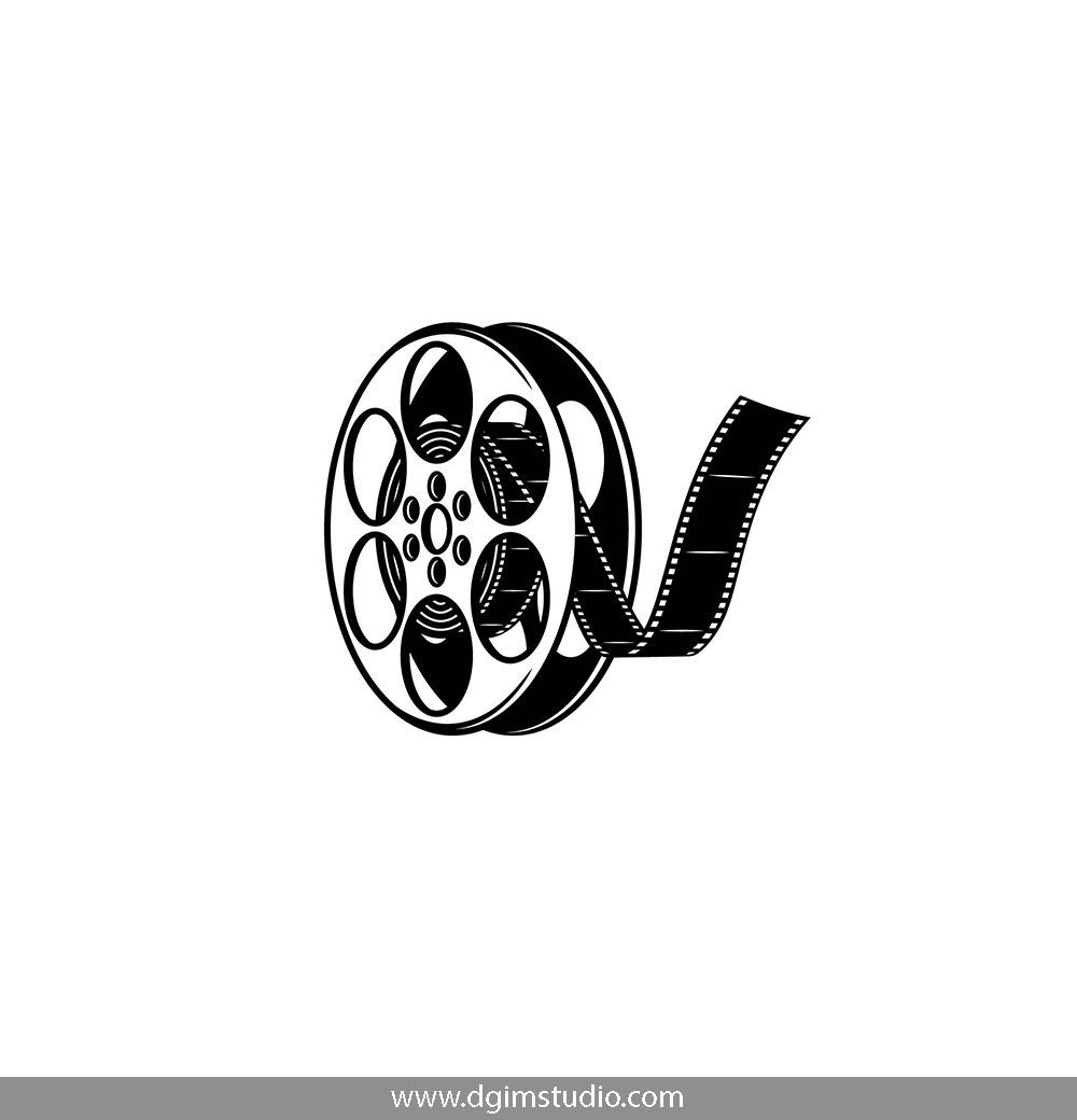 Old School Style Film Reel Click To The Link To Find More Cinema Elements Badges And Emblems Vectorill Film Reels Instagram Logo Instagram Highlight Icons