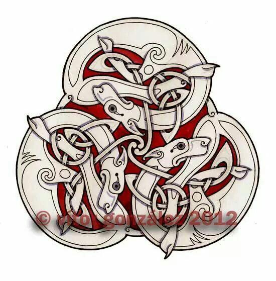 Celtic art circle fb