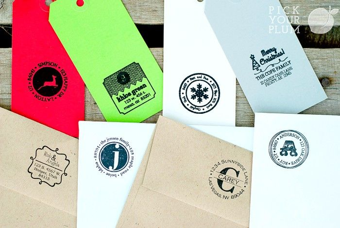 Who doesn't need an address stamp? Great gift idea! | Gifts for father, Valentine gifts
