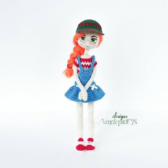 Patrón de muñeca de ganchillo Deal muñecas amigurumis | amigurumi ...