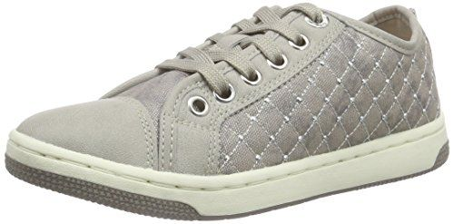 Geox Jr Kilwi Girl, Zapatillas para Niñas, Plateado (Silver C1007), 28 EU