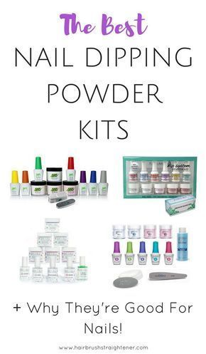 nail dipping powder is so much better for your nails than