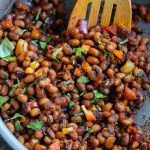 Quick and Tasty Pan Fried Black eyed Peas