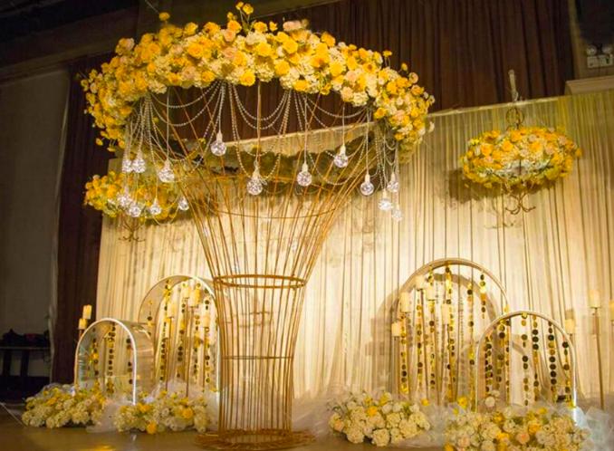 Wedding Banquet Frame Carcass Art Background Decoration For Flowers Backdrop Wedding Props Stage Decorations Wedding Decorations