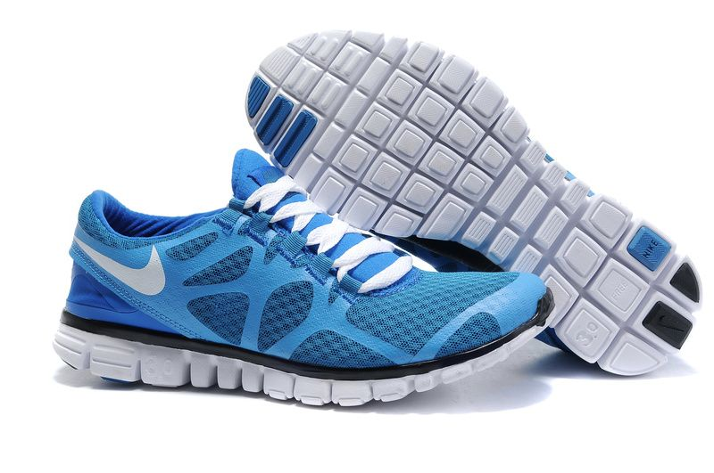 reputable site 99d63 7dcc3 Nike Free 3.0 Homme Chaussure V3 Bleu foncé   Blanc