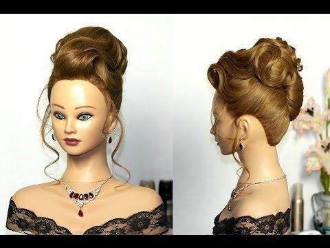 Elegant Wedding Updo Hairstyles For Long Hair Вечерняя прическа свадебная