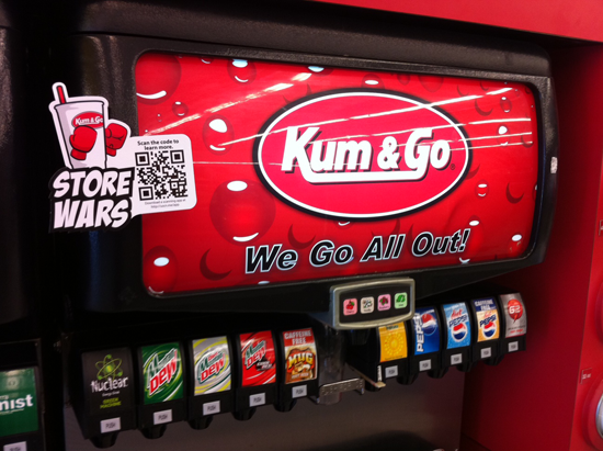 Store Wars: Campaign focused on which stores could sell the most fountain drinks and included a leaderboard that showcased daily results.