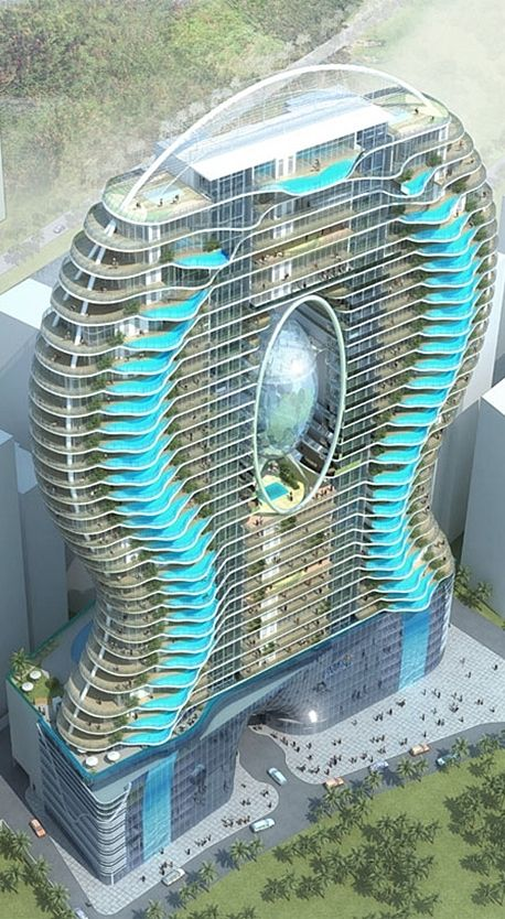 Aquaria Grande Tower, Mumbai, India designed by James Law ...