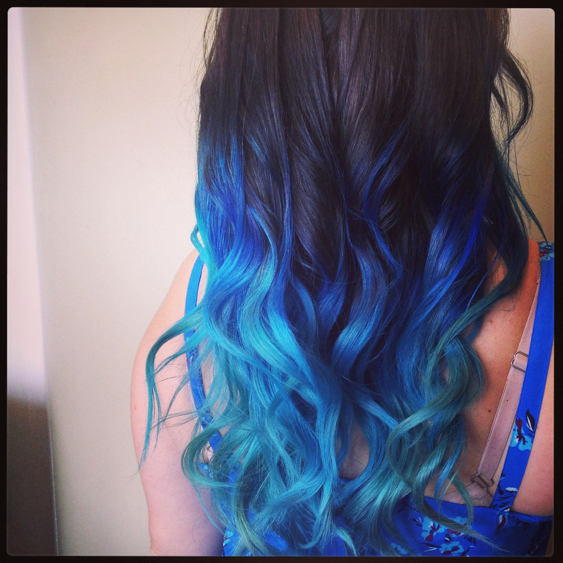 Mermaid And Peacock Hair For The Summer Manic Panic Hair Coloring