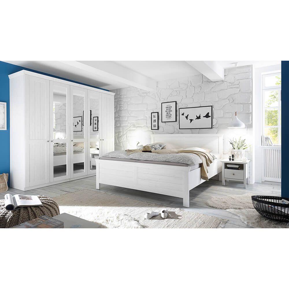 Schlafzimmer Bellevue Set Tlg Anderson Pine Jetzt Bestellen - Komplett schlafzimmer gunstig kaufen
