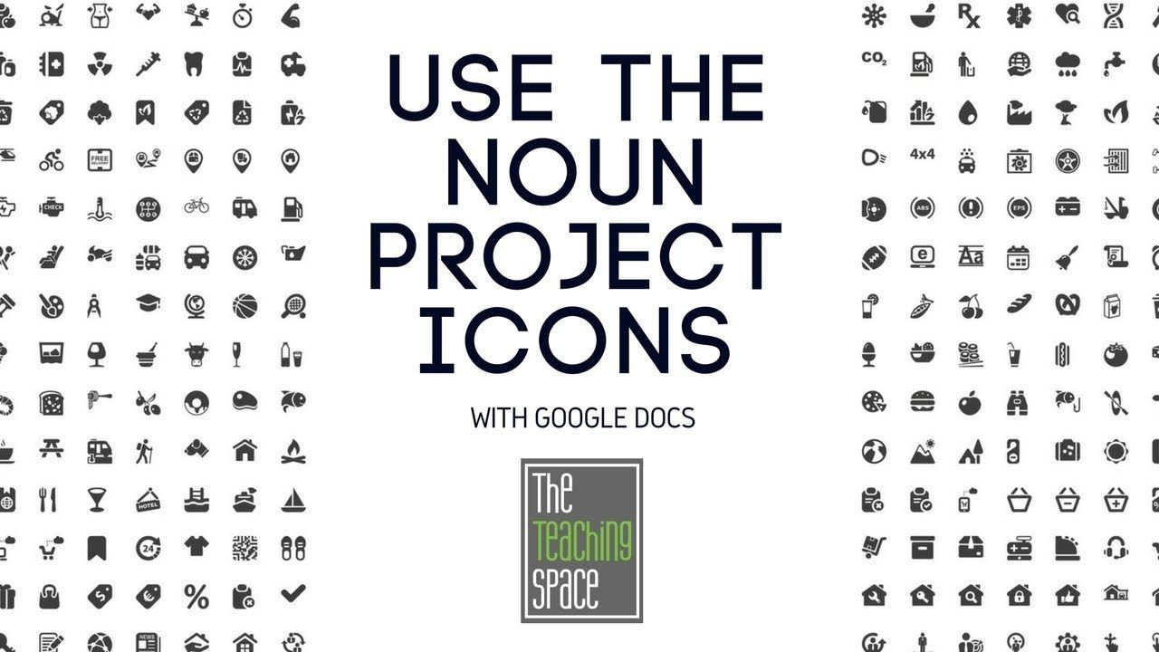 How to Use The Noun Project Icons With Google Docs (With
