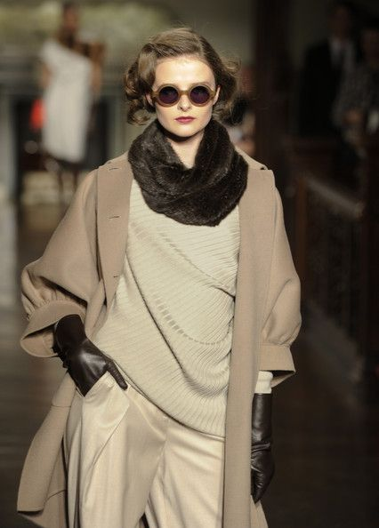 St. John - Runway - Fall 2012 Mercedes-Benz Fashion Week - Pictures - Zimbio
