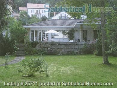 SabbaticalHomes - Home for Rent Neuchatel 2000 Switzerland, Switzerland:  Villa on lakeshore