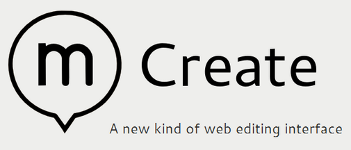 Create.js is a comprehensive web editing interface for