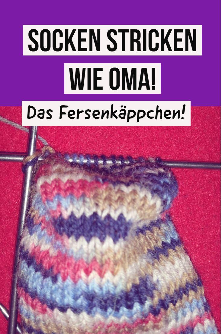 Socken stricken wie Oma! Anleitung Fersenkäppchen!  #socken#sockenstrickenanleitung #stricken #fersenkäppchenanleitung #knittingideas  #knittingprojects #knitting ##knittingsocks #amigurumimodelleri