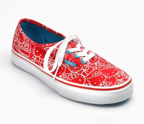 b4ce1ae08 VANS x Hello Kitty Adult Women's Authentic: Red these are on sale for $35 :)