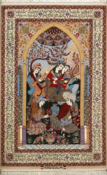 Esfahan Persian Rug Buy Handmade Esfahan Persian Rug 4 9 X 7 5 Authentic Persian Rug Acem Halisi
