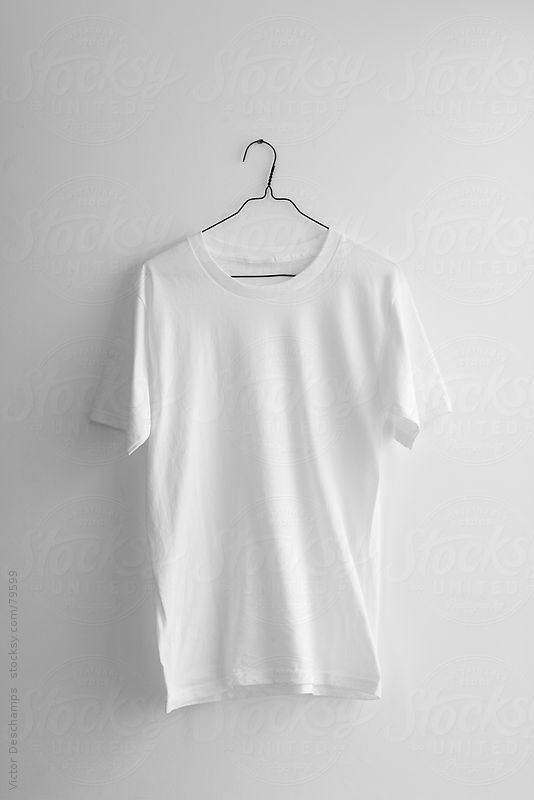 Download Plain White T Shirt Hanging On The Wall By Victor Deschamps Plain White T Shirt Oversized White T Shirt White Tshirt